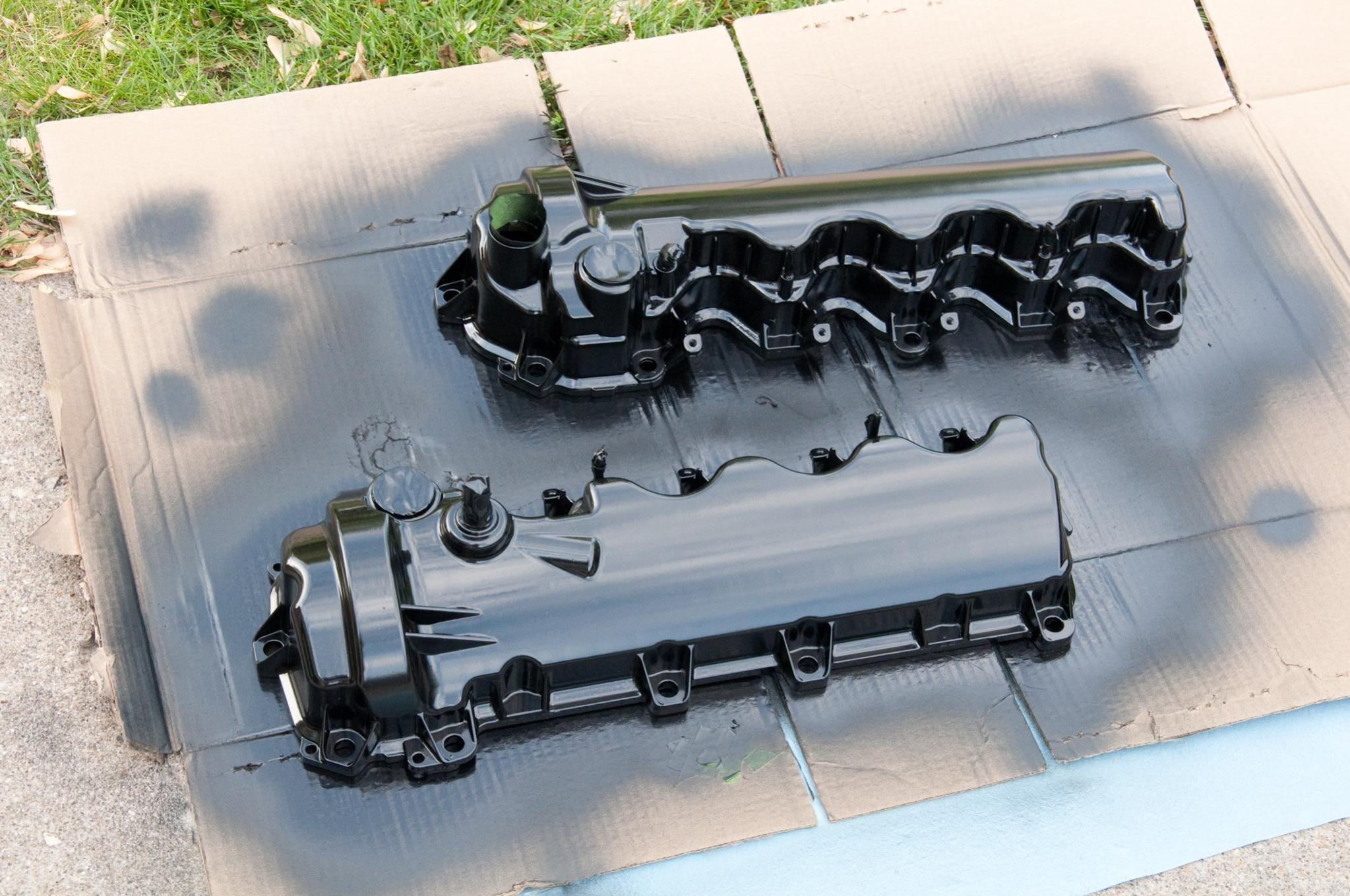 I painted my valve covers this weekend! - Ford Mustang Forum