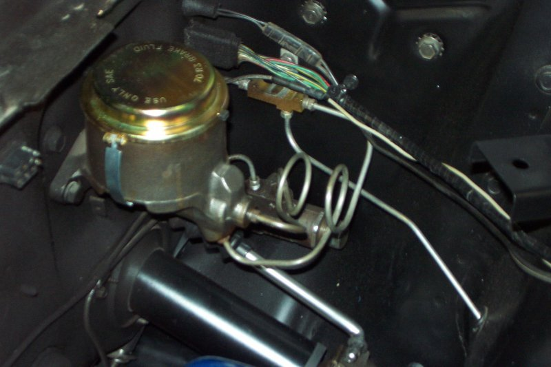 Brake Line Repair Kit >> Single pot master brake cylinder bleeding - Vintage Mustang Forums