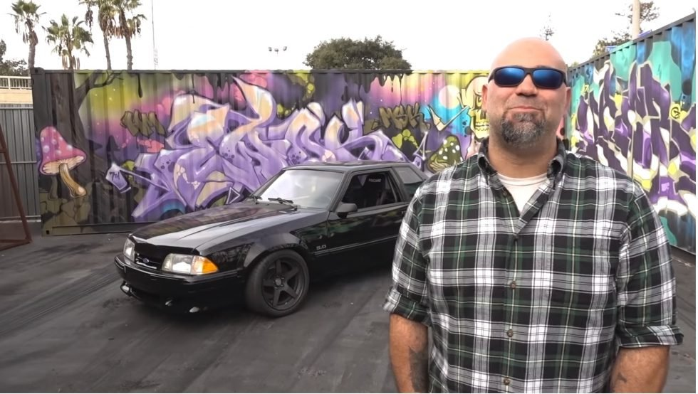 Matt Farah From The Smoking Tire Smokes A Fox Body's Tires