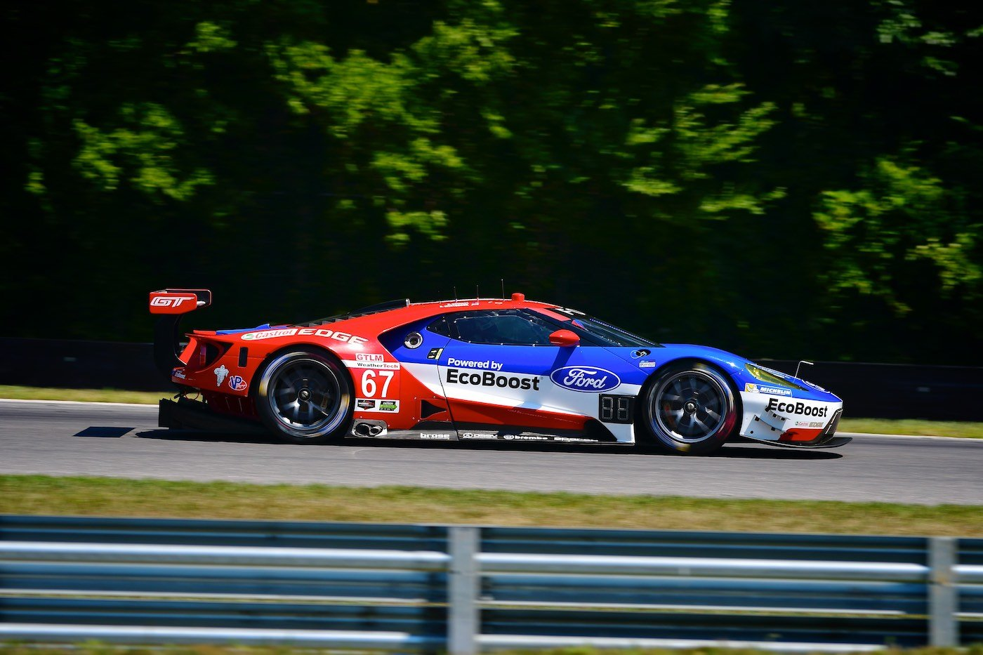 Ford GT Takes Podium Finish at Lime Rock