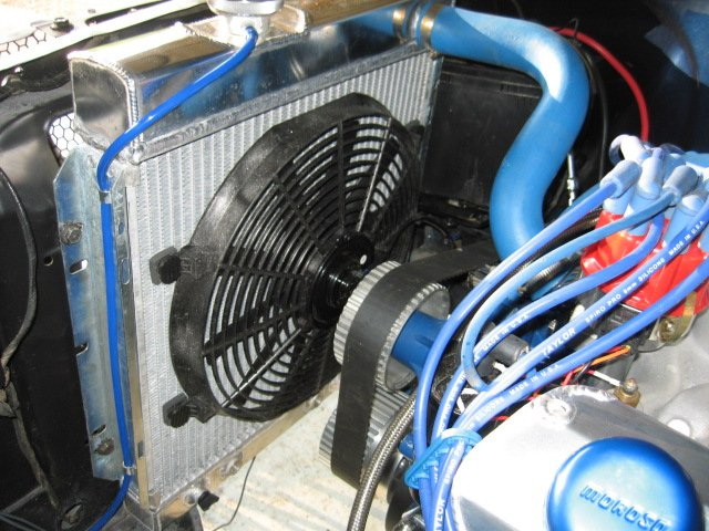 04 Mustang Gt >> How to install electric fan in 6 cylinder 1966 Mustang ...