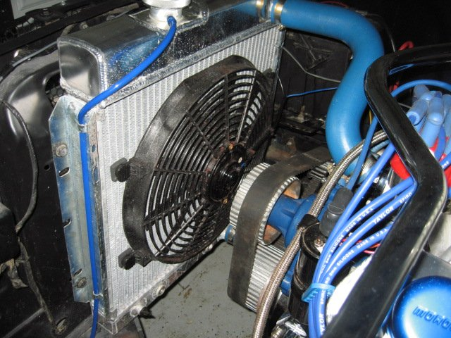 Adding An Electric Fan To A 289  Any Suggestions  1967