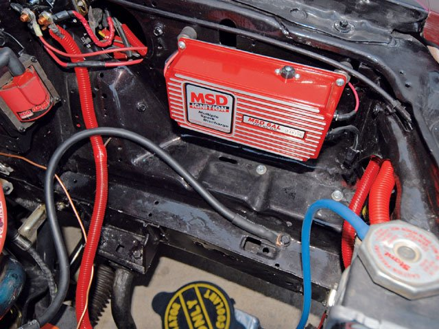 1978 chevy starter wiring wheres a good place to mount the msd box  ford mustang forum  wheres a good place to mount the msd box  ford mustang forum