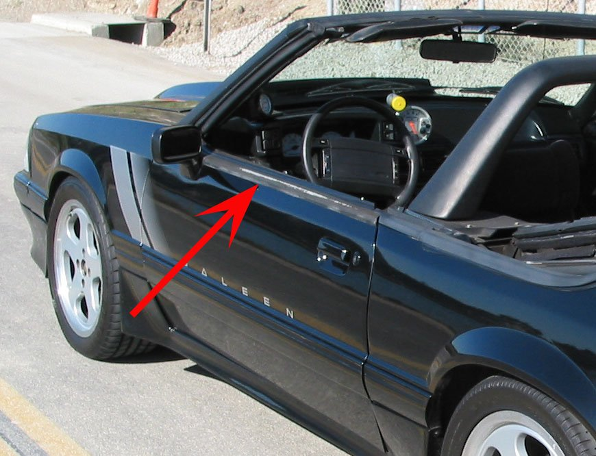 Click image for larger version Name molding.jpg Views 16118 Size 145.6 & Convertible door belt molding removal - Ford Mustang Forum