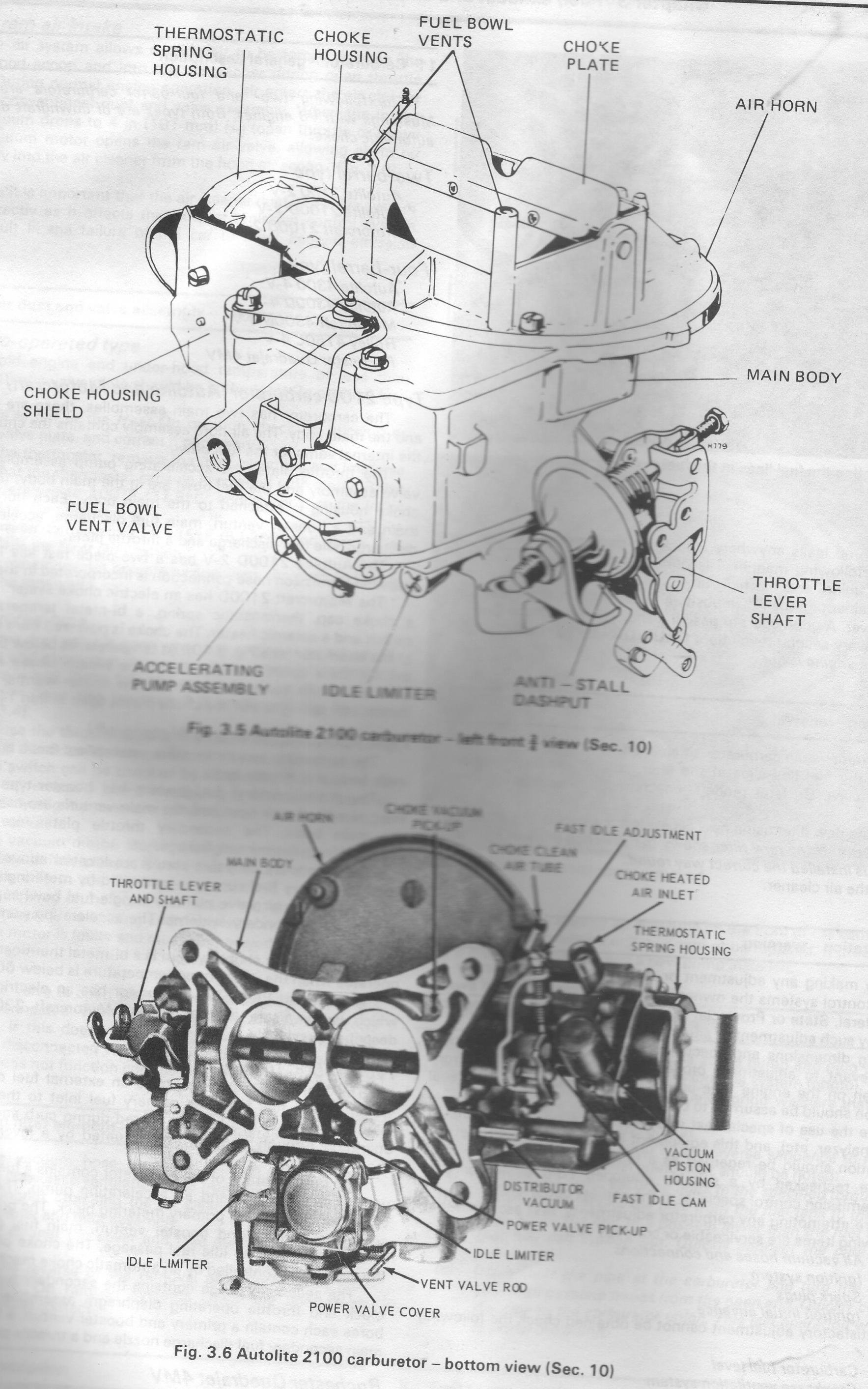 63152d1236399041 2100 carb diagram motorcraft 2 2100 carb diagram page 2 ford mustang forum Motorcraft 2150 Carburetor Identification at bayanpartner.co