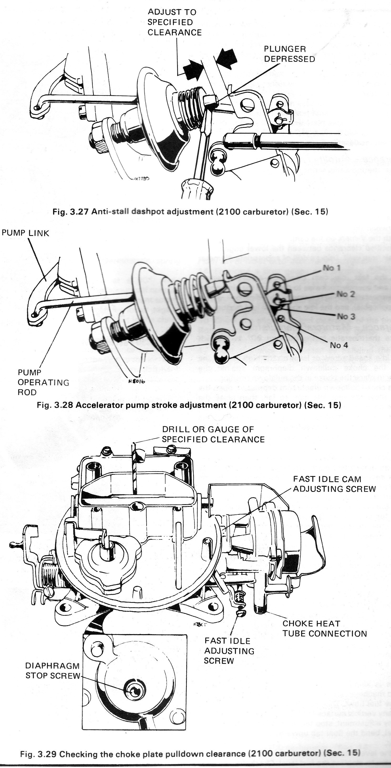 63151d1236398746 2100 carb diagram motorcraft 2100 2100 carb diagram page 2 ford mustang forum Motorcraft 2150 Carburetor Identification at bayanpartner.co