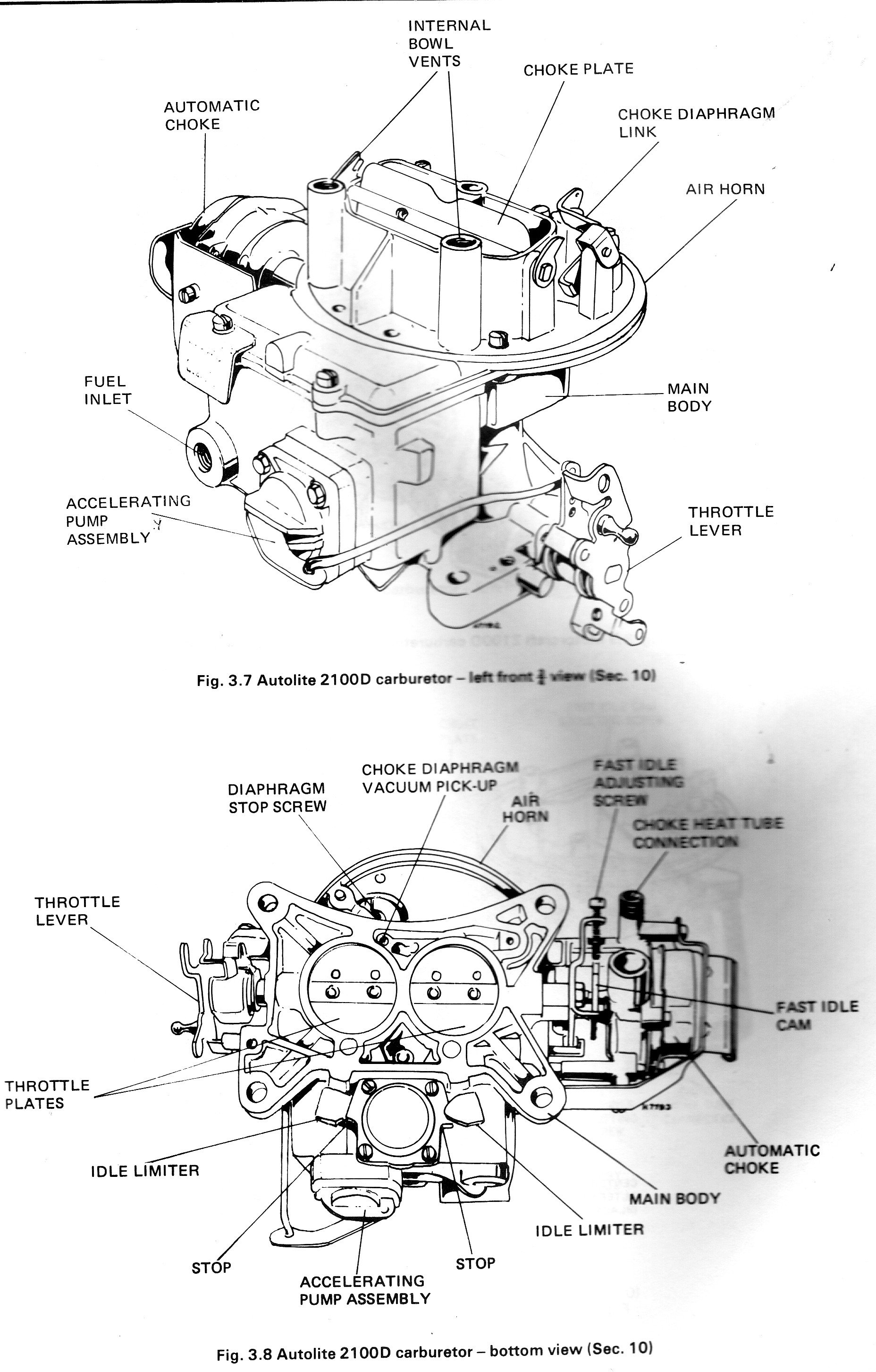 Hose Ford Vacuum Line    Diagram