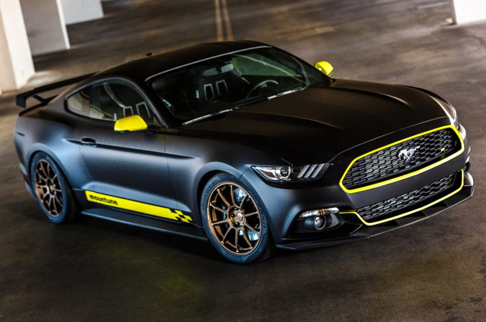 Mustangs of the 2014 SEMA Show
