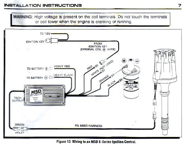 Msd Coil Wiring Diagram : Msd pro billet dizzy al box blaster coil how do i get