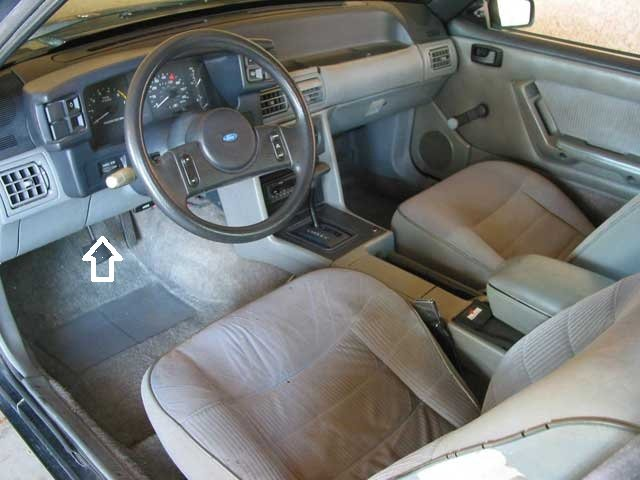 1990 mustang fuse panel cover switch ford mustang forum. Black Bedroom Furniture Sets. Home Design Ideas