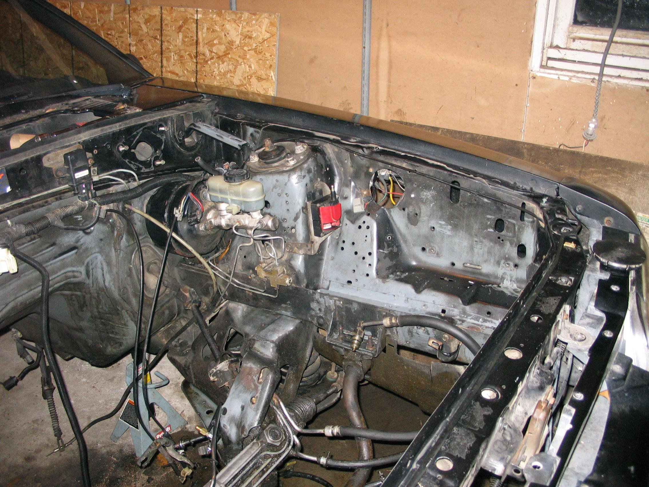 any tips for underhood organizing on a fox body ford mustang forum rh  allfordmustangs com fox body mustang starter wiring diagram fox body  mustang wiring