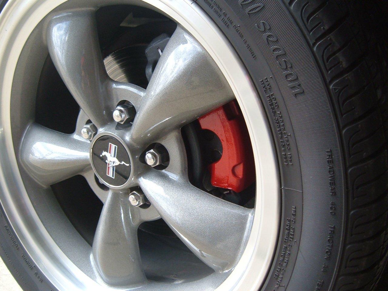 Polished Lip On Bullitt Rims Ford Mustang Forum