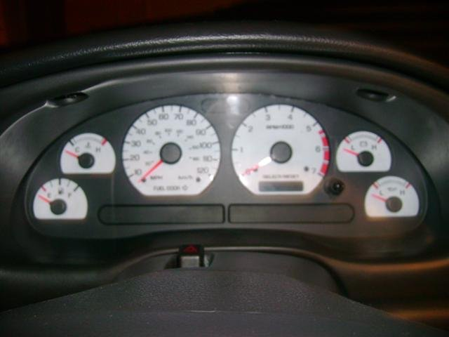 mustang 2000 v6 face gauges finally got 2001 ford interior location boss plan conversion allfordmustangs talk forums