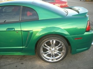 1999-2004 New Edge Ford Mustang Tire and Wheels Picture ...