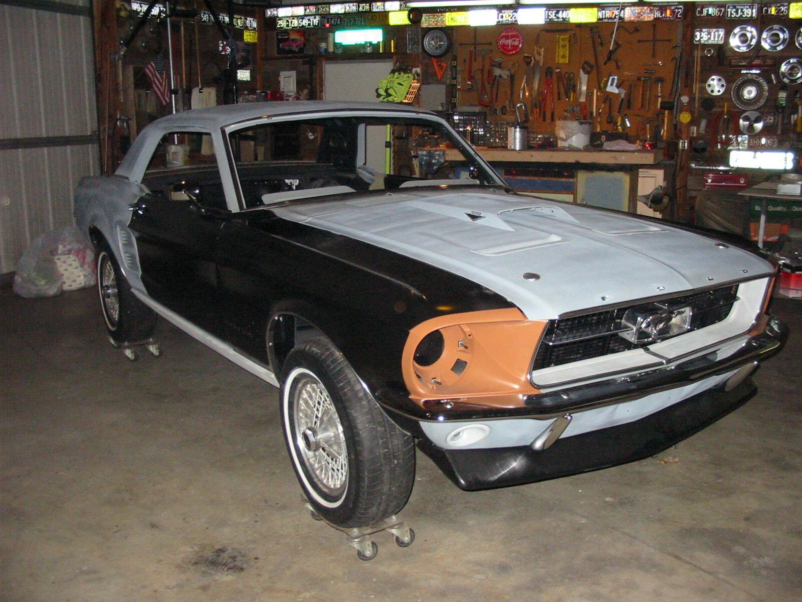 1967 ford mustang coupe scoop Ford Mustang Forum