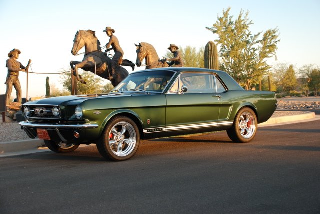 1965 - 1966 Tire and Wheels Picture Thread - Ford Mustang ...