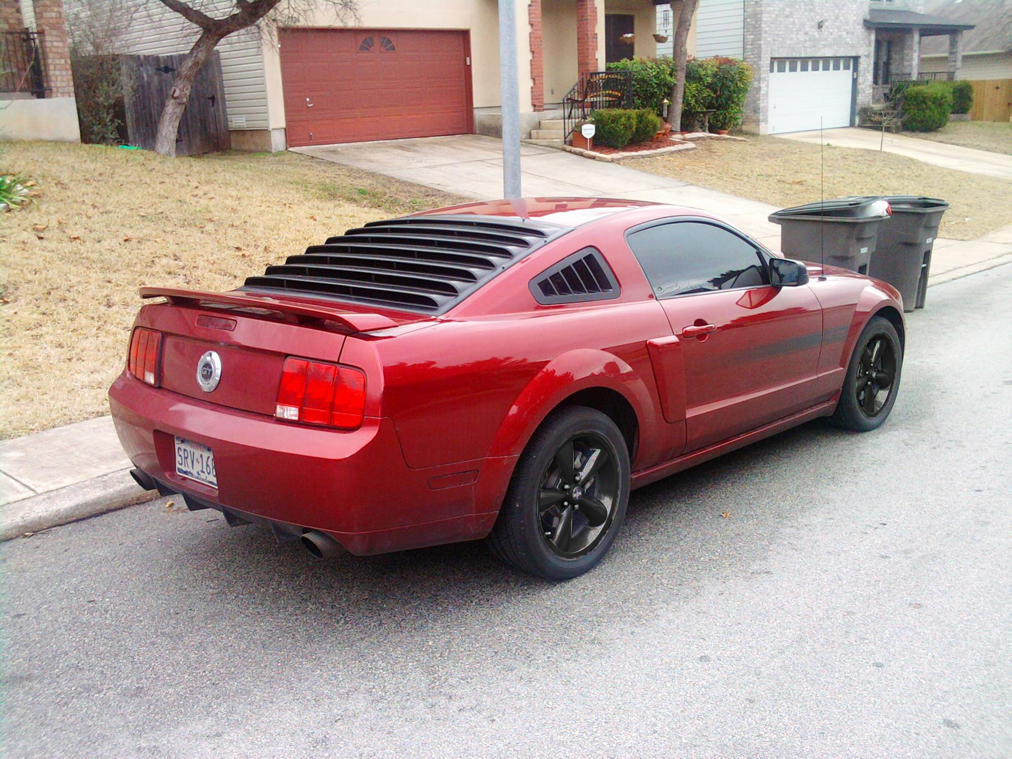Photoschop Request Black Rims Ford Mustang Forum