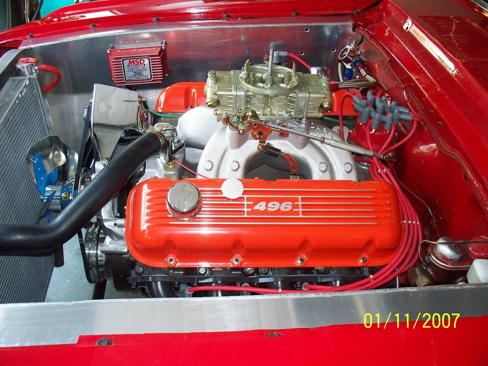 D Mustang Coupe Big Block Chevy Mustang G