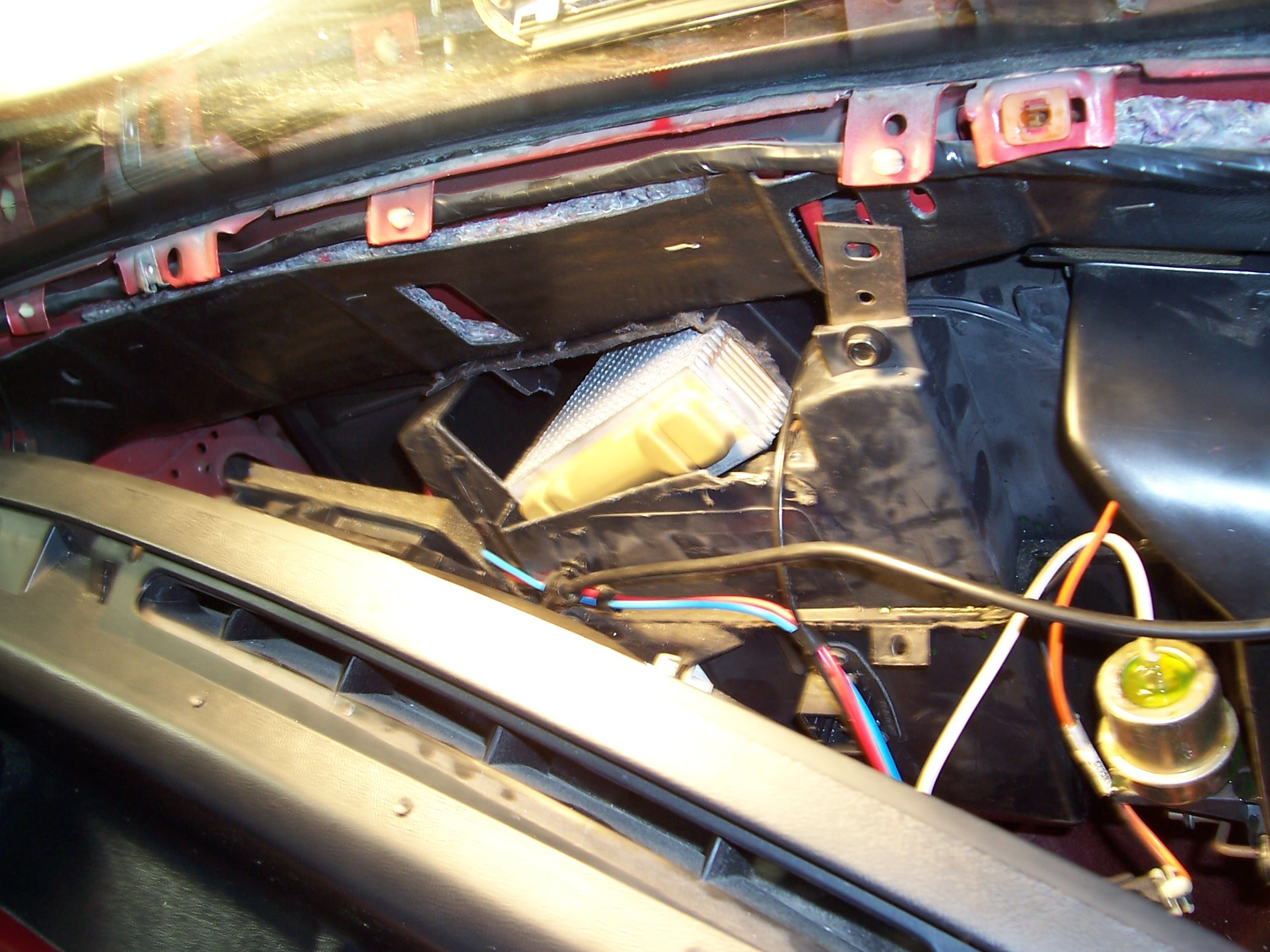 Heater Core Replacement On Fox Body Mustang Page 2