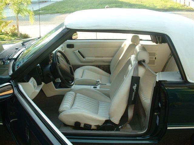D Pics My Up Edition Foxbody Mustang Mustang Interior
