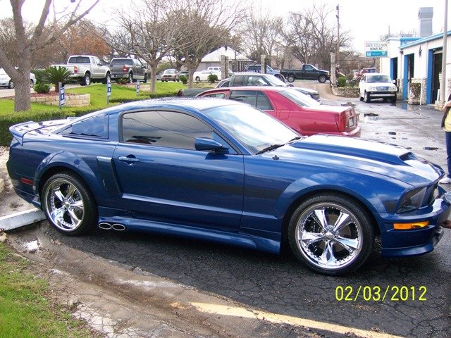lets      exterior mods  page  ford mustang forum