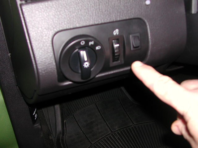 Trunk Release Switch