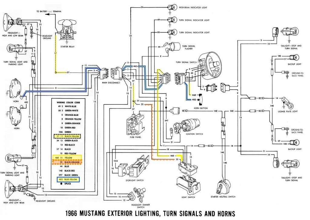 1965 Mustang Ignition Switch Wiring Diagram