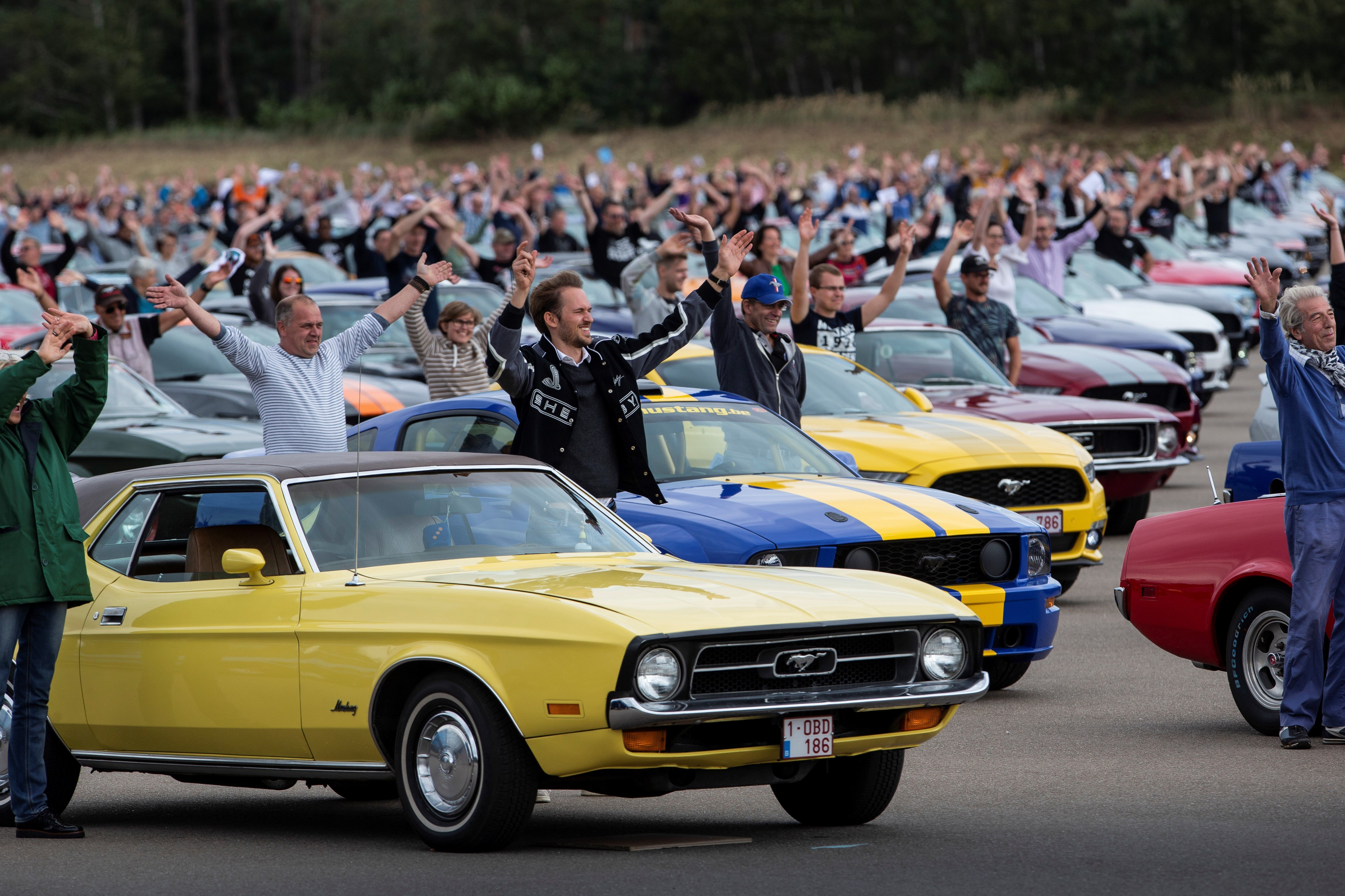 New Record For Biggest Mustang Gathering Set…In Belgium