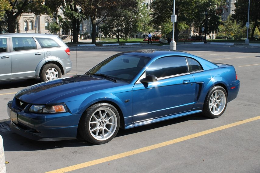 My Atlantic Blue 2000 Gt On Bbs Rks And Other Mods