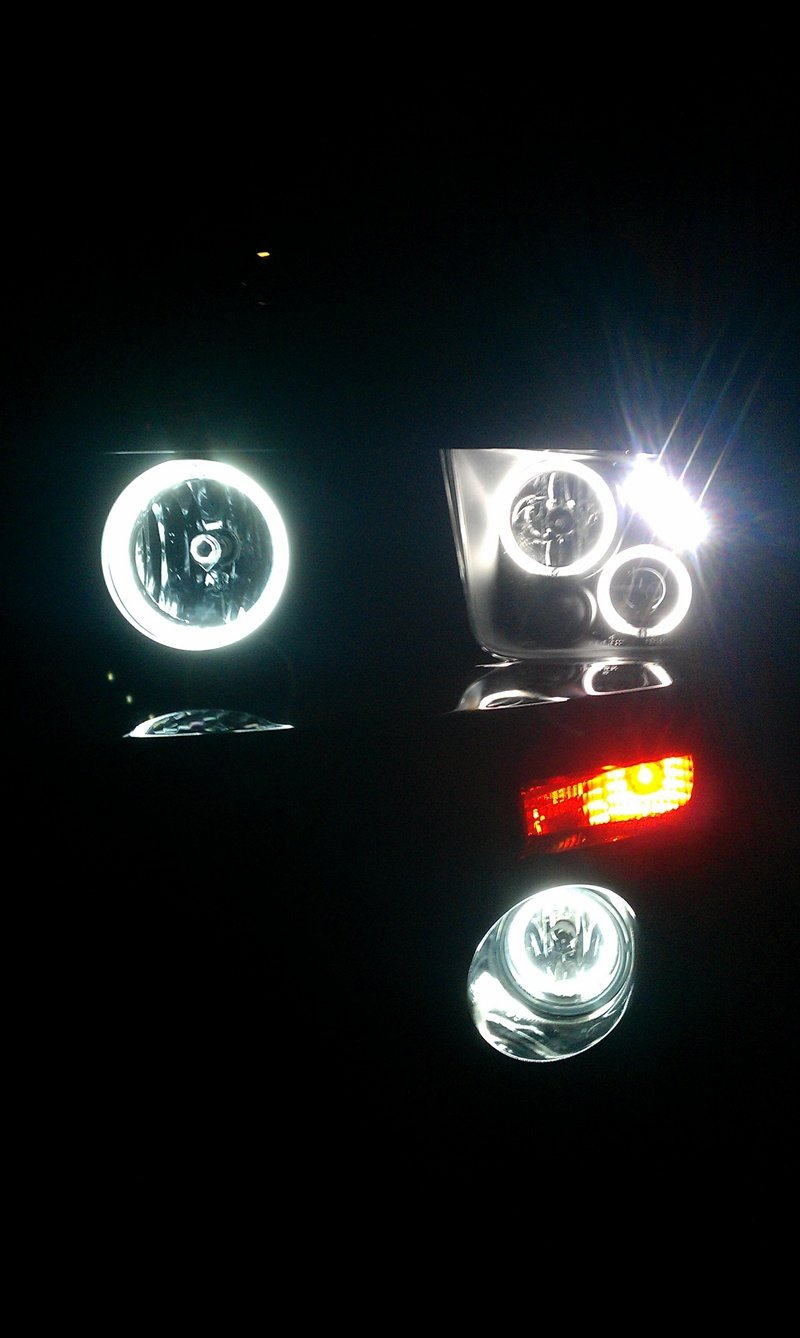 My New Halo Lights 2007 Mustang Ford Mustang Forum