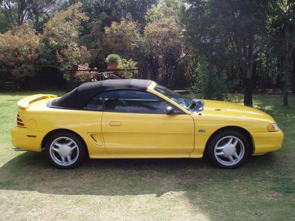 Vendo mi Mustang GT ´94 V8 con motor 5.0L convertible ...