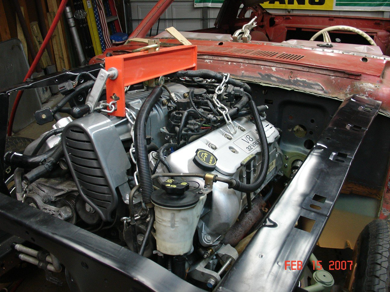 D Mustang L V Engine Swap Mustang Sm on Ford 4 6 Engine Problems