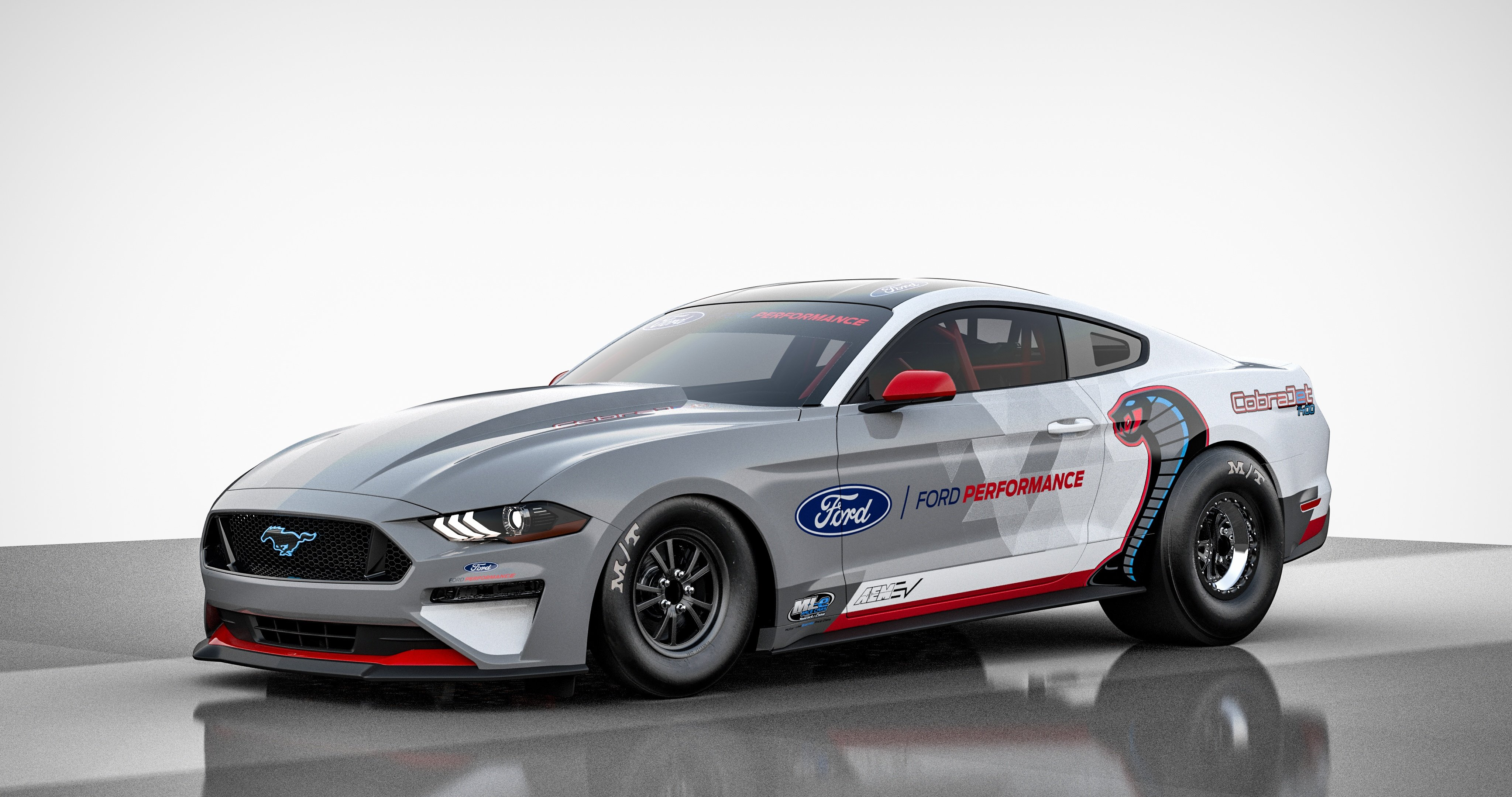 The 1400 HP Mustang Cobra Jet 1400 is Ready for the Drag Strip