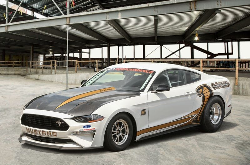 Ford Launches $130,000 Mustang Cobra Jet at Woodward