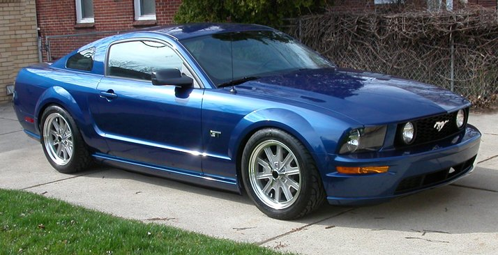 Whose Blue Lowered Mustang Is This Ford Mustang Forum