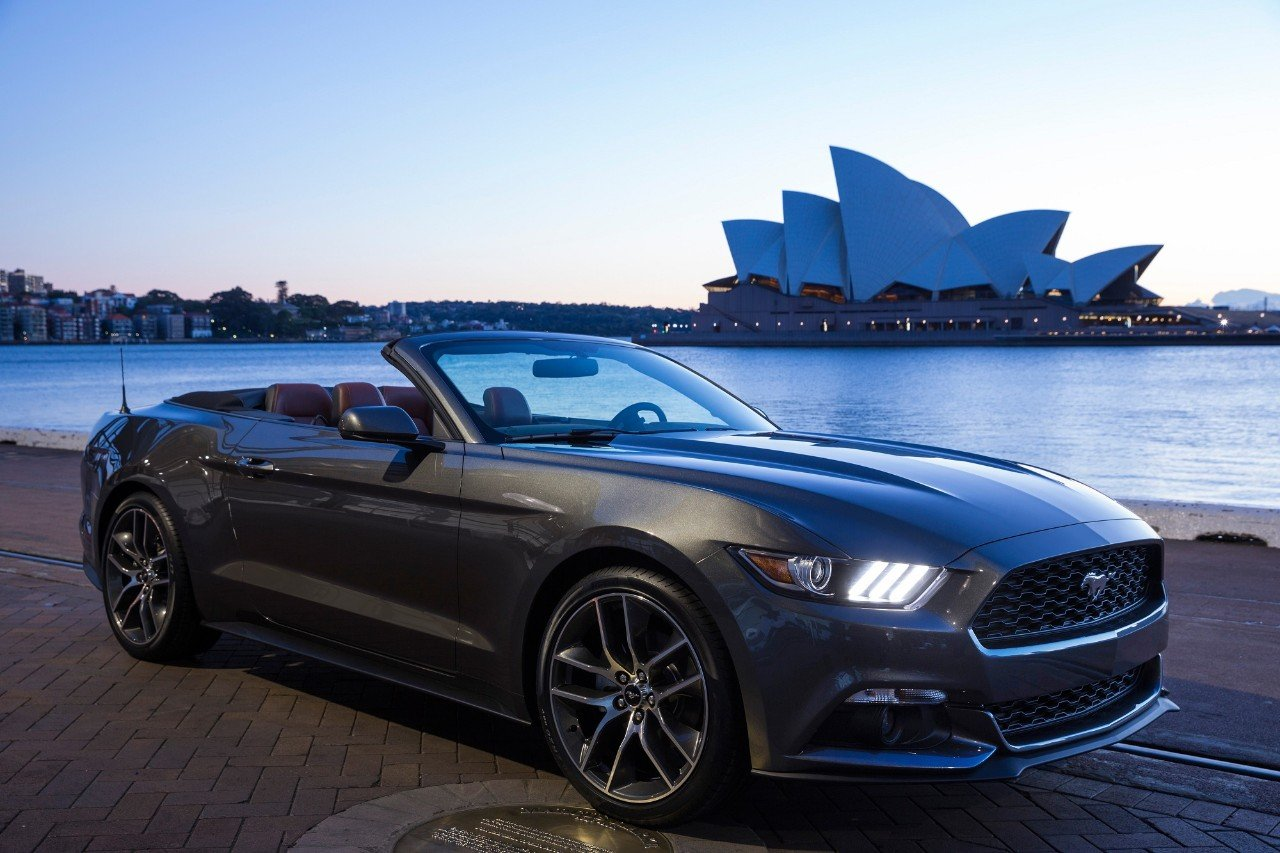 The Ford Mustang's New Big Market: Australia