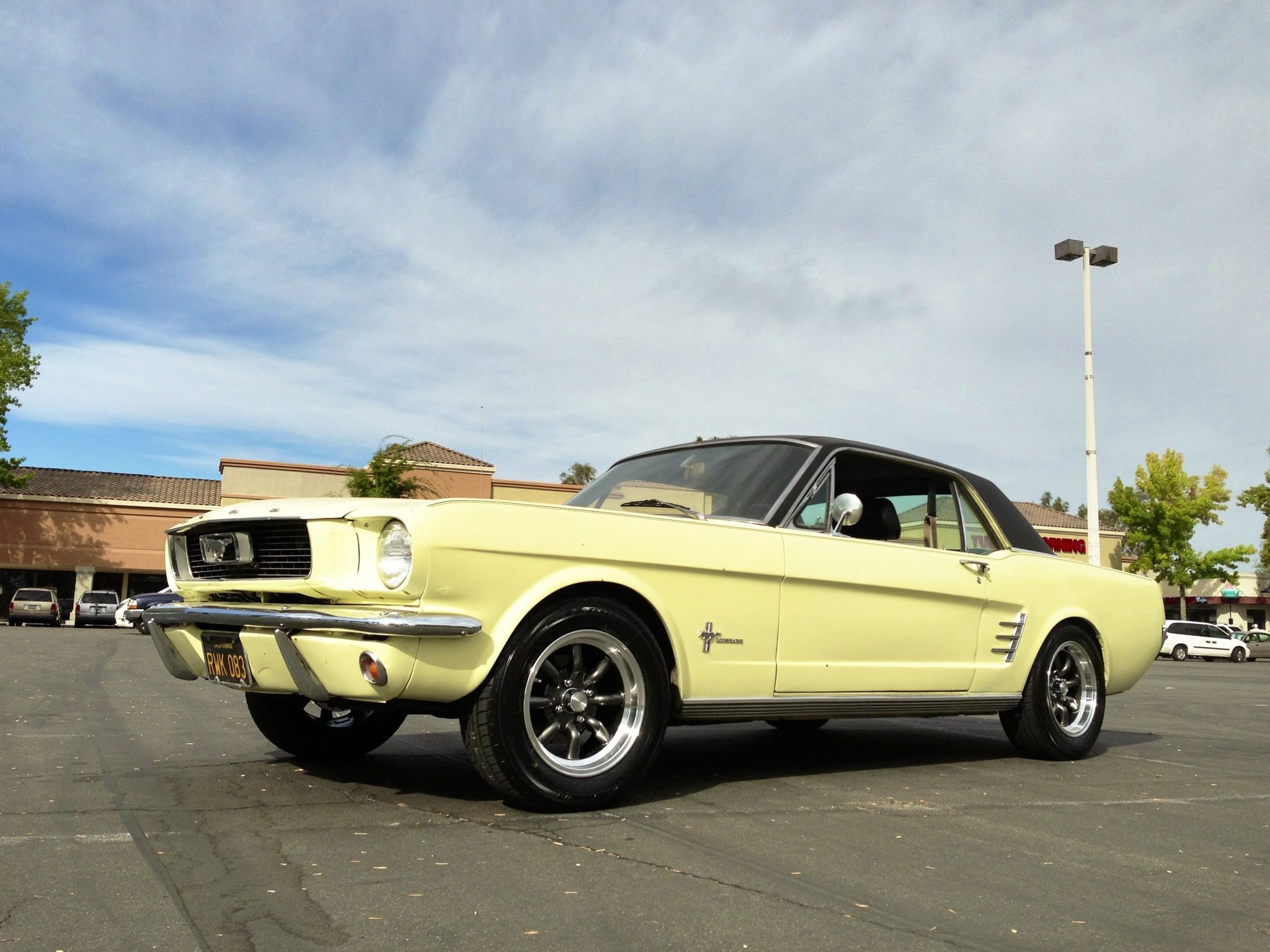 Success!!! Cool wheels for 4-lug pattern on 1966 Mustang!!!-mustangafter.jpg
