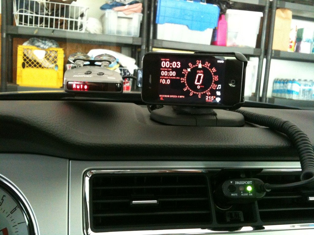 Perfect iphone/android phone gps holder - Ford Mustang Forum
