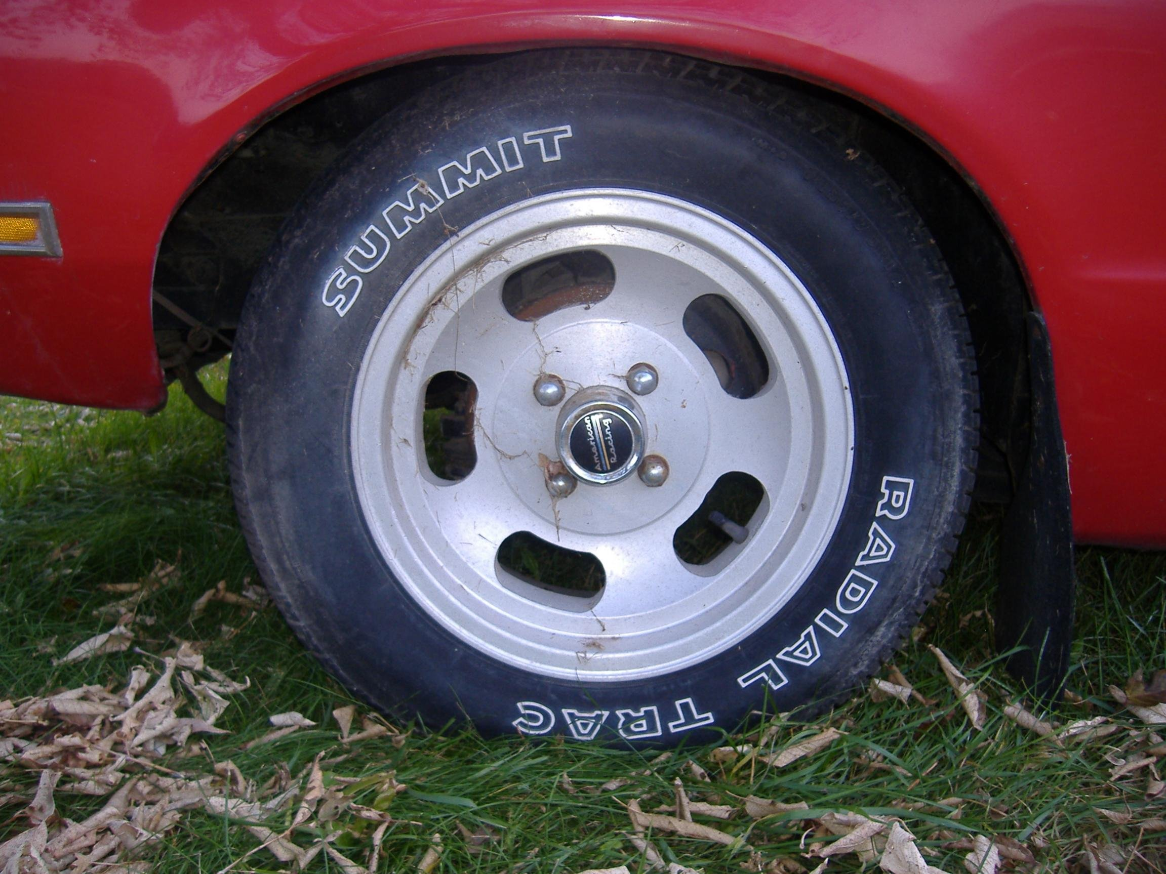 1974 1978 Mustang Ii Tire And Wheels Picture Thread