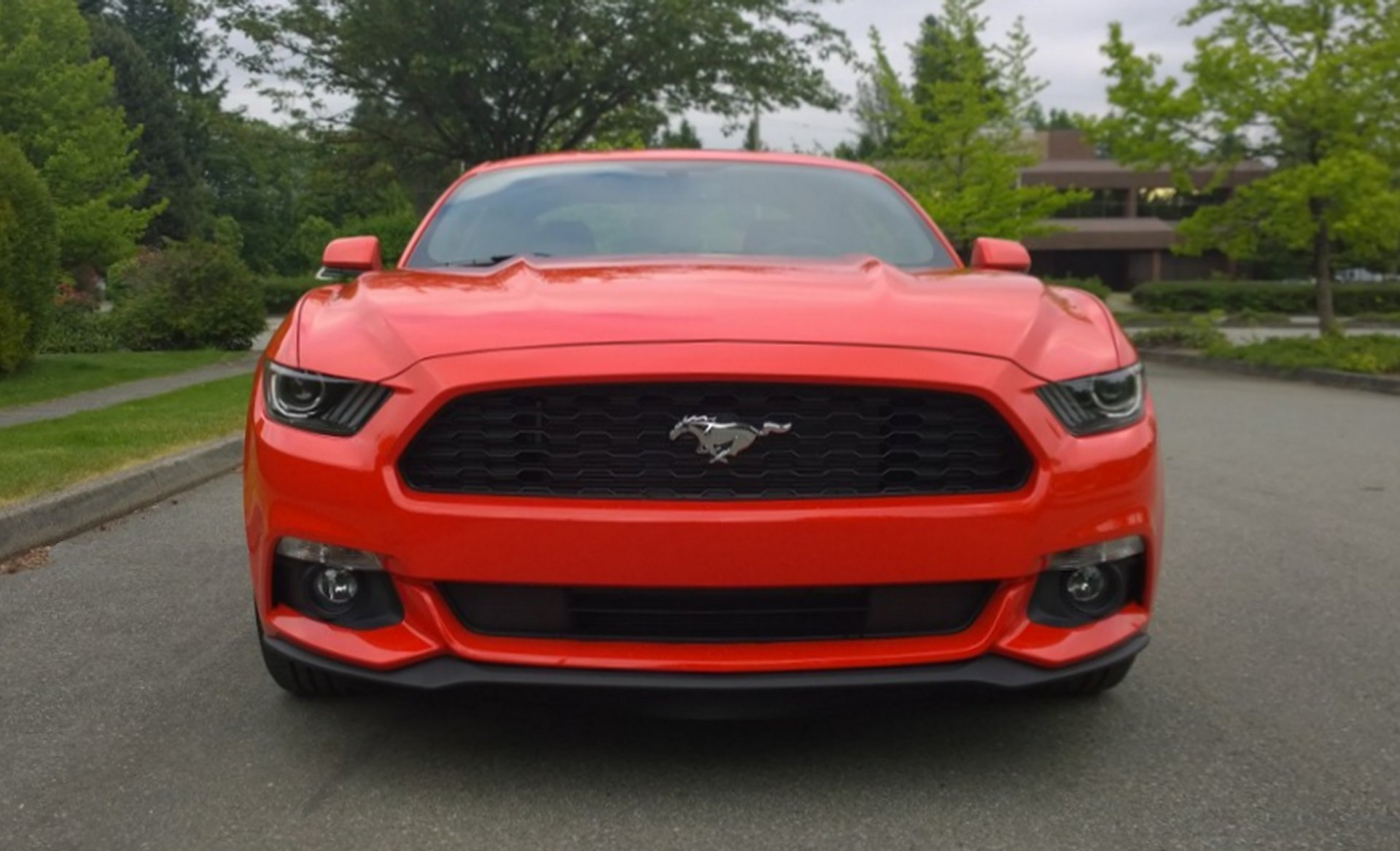 Click image for larger version name my 2015 mustang v6 front grille jpg views