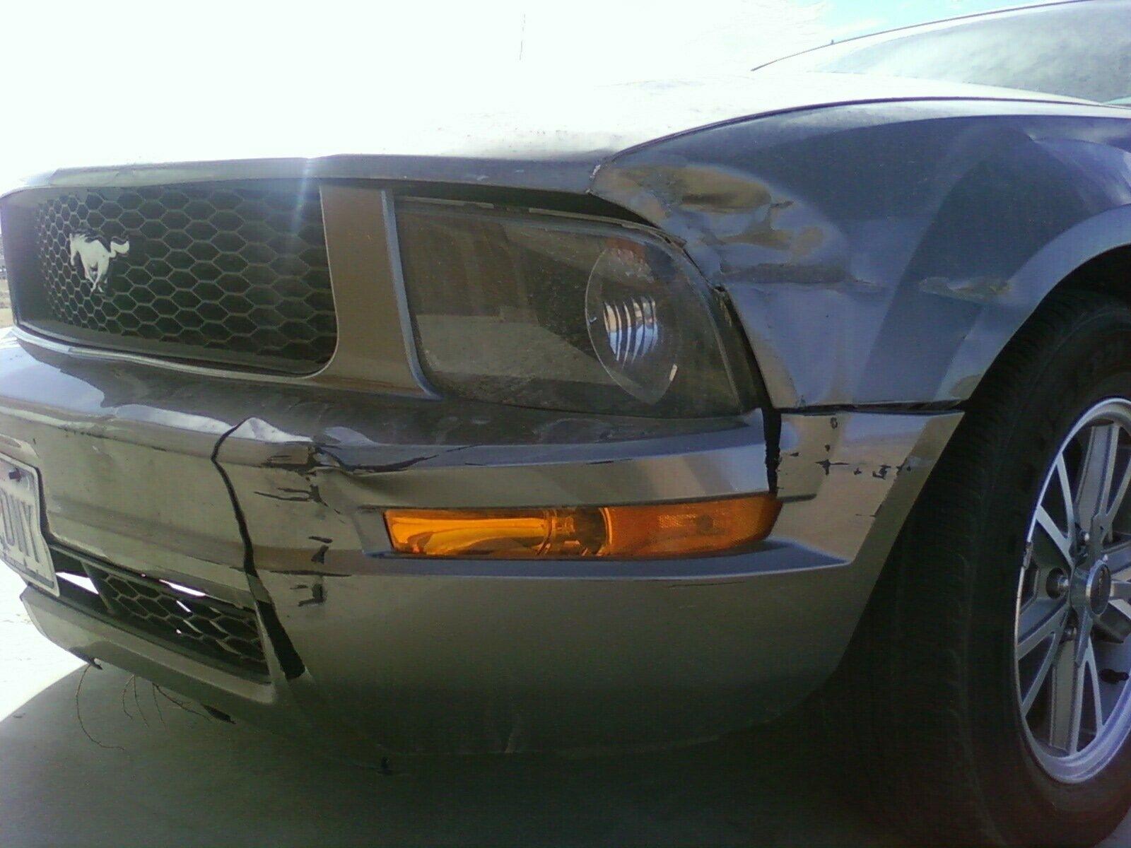 2005 Mustang Accident Repair Help