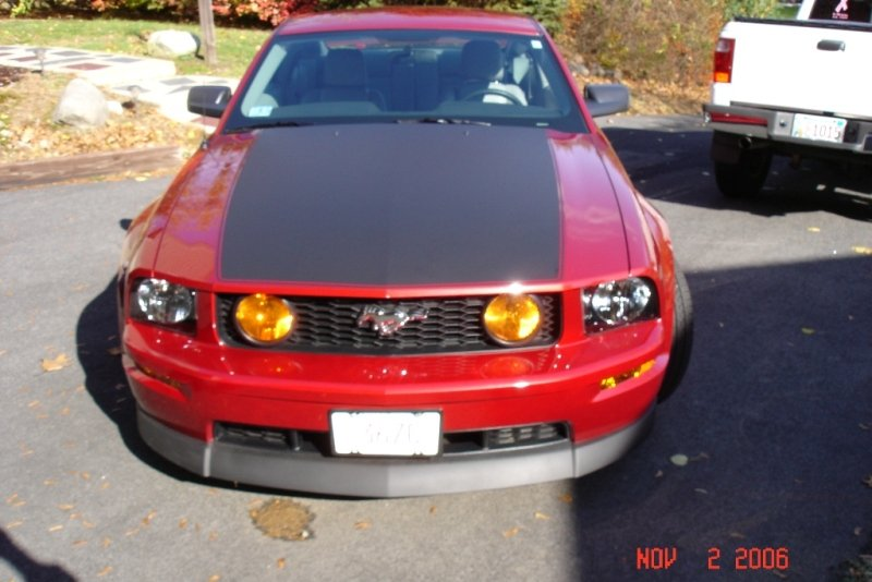 Amber Fog Lights On A Gt Ford Mustang Forum