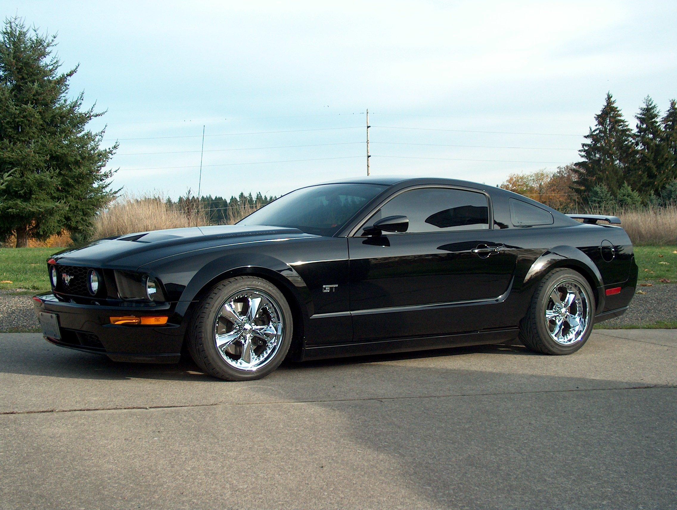 Black Stang Ford Mustang Forum - 2007 mustang