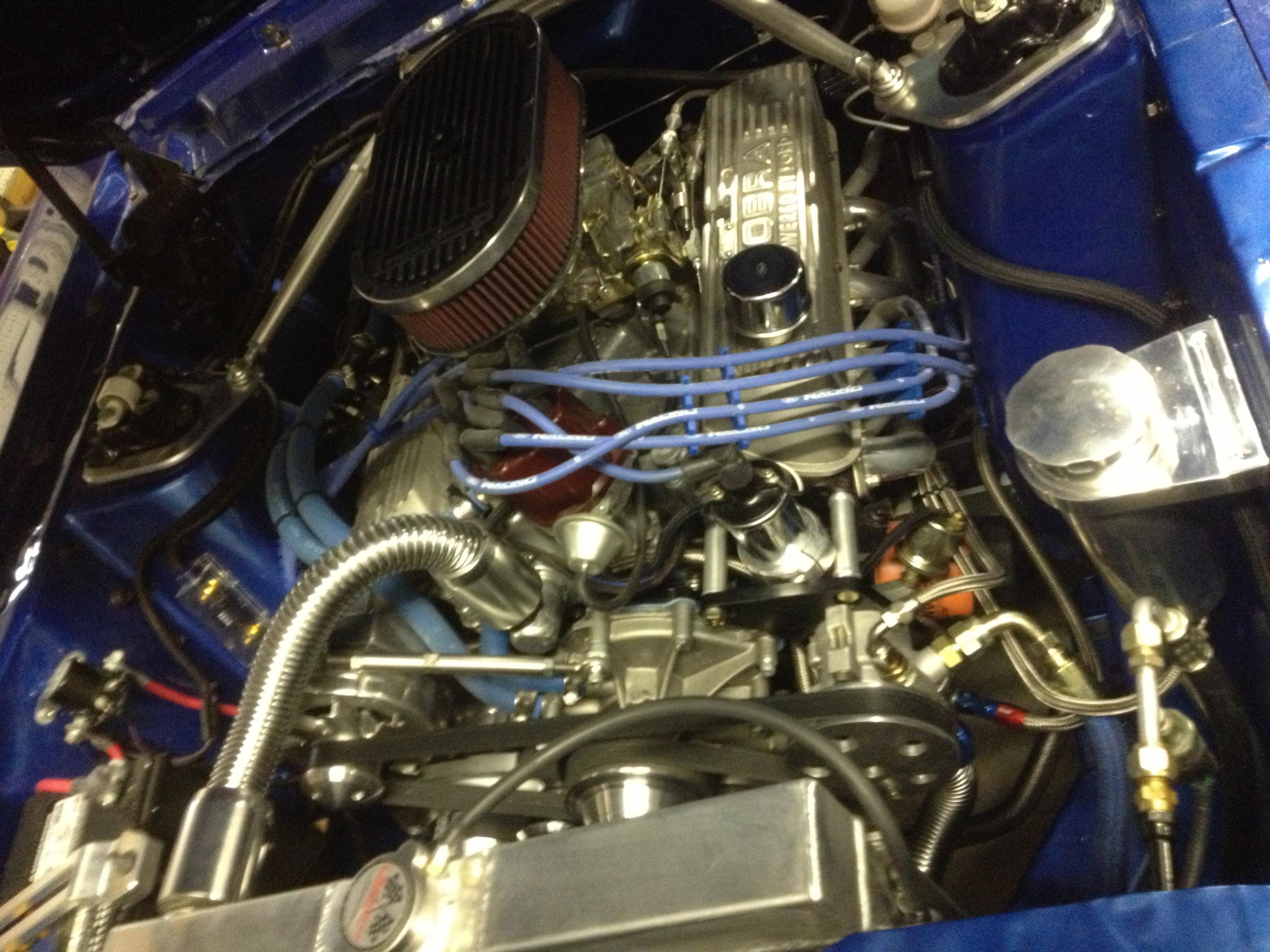 Mustang radiator hose size