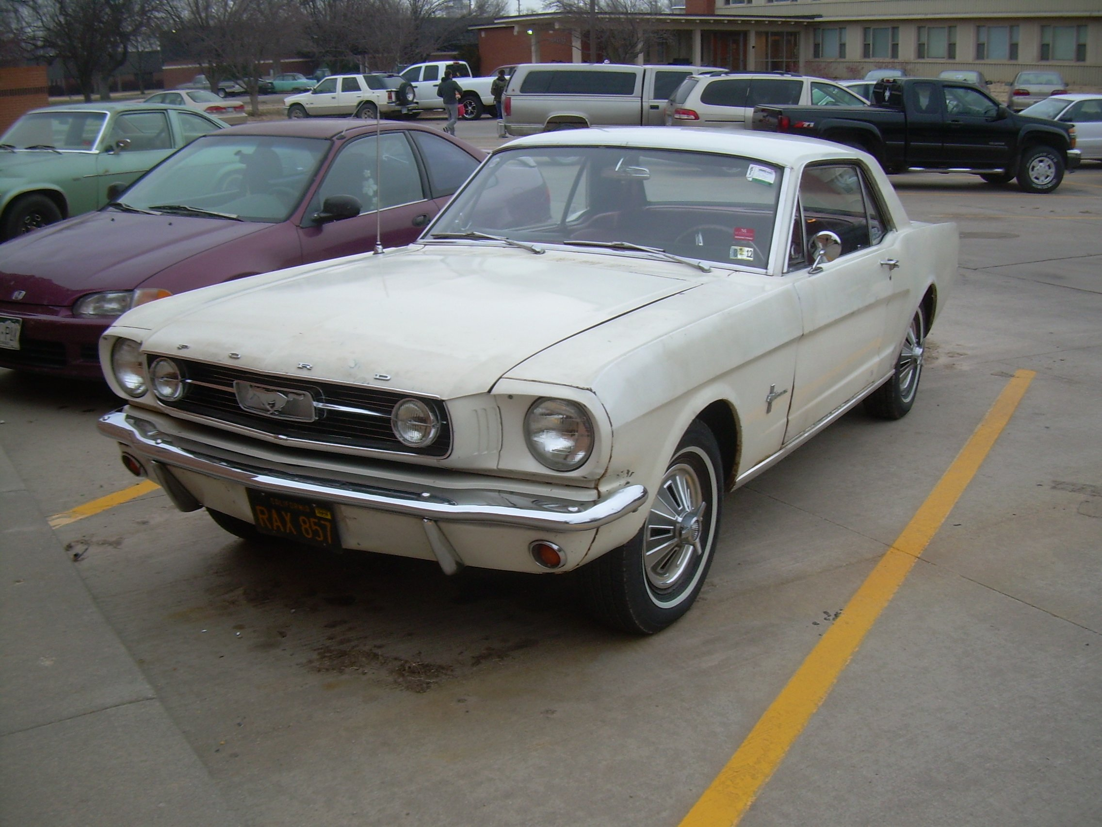 1966 Mustang Question About A Ground Wire