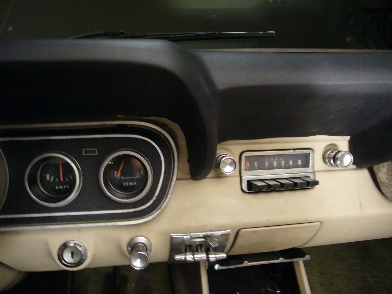 Dash Pad 66 Pony Upgrade On Coupe Ford Mustang Forum