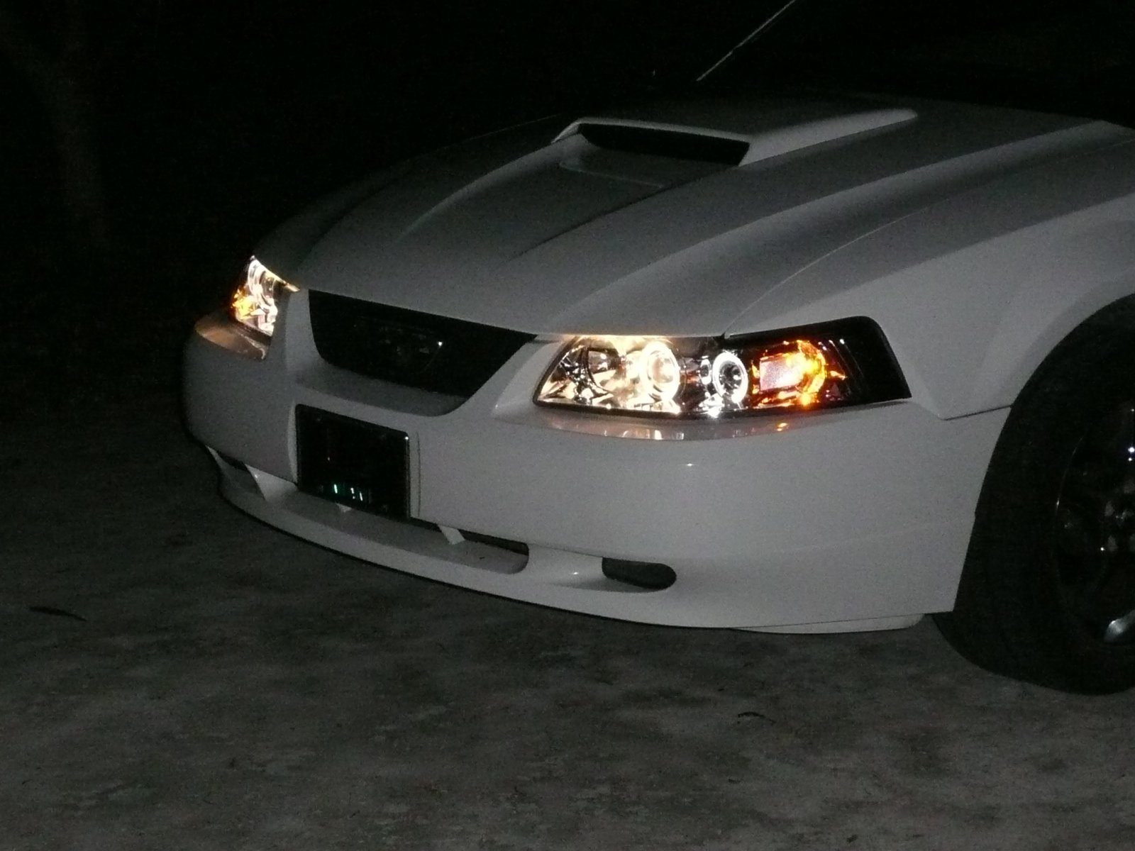 Late Model Mustang Halo Projector Headlight Installation