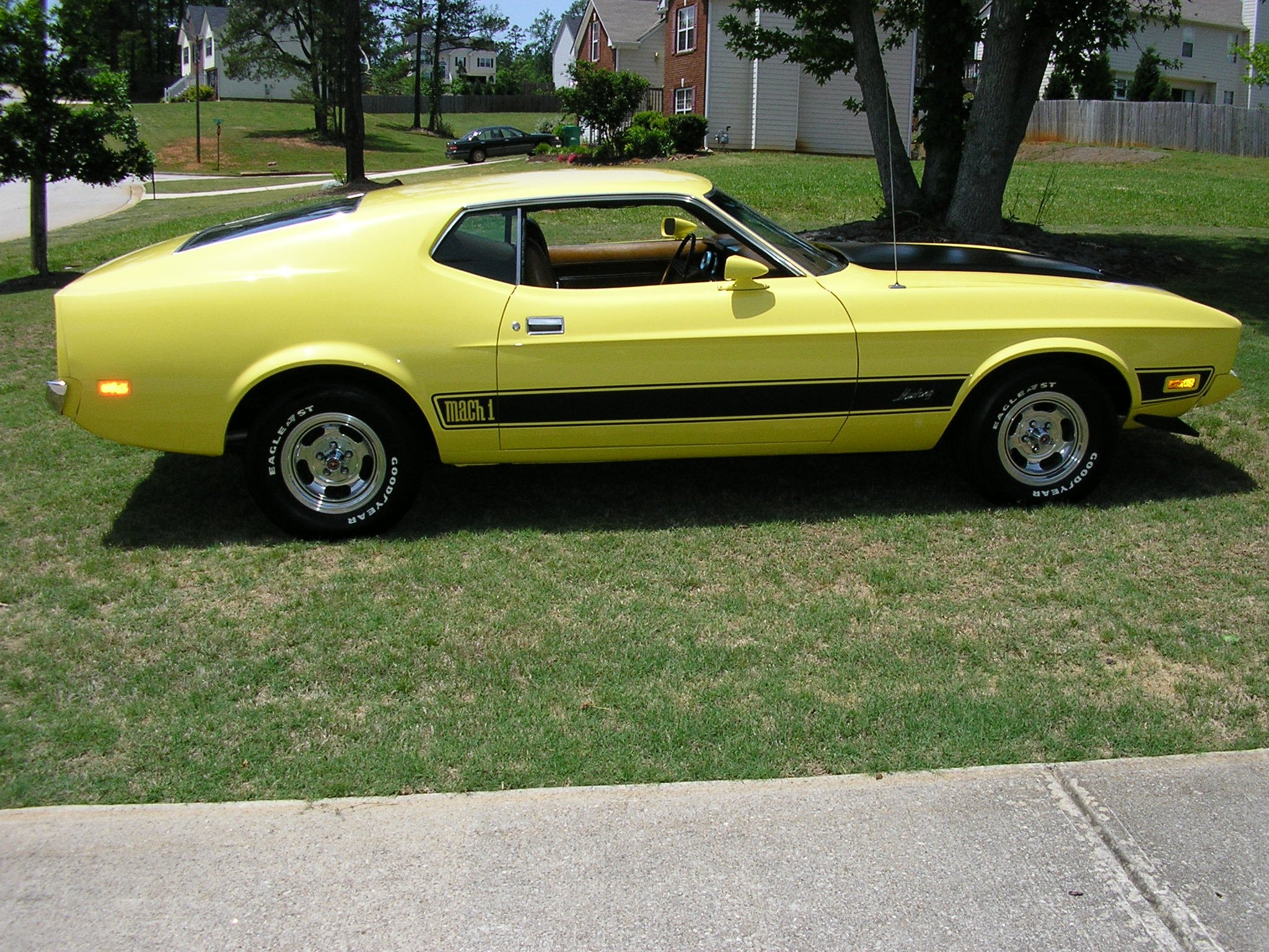 Displaying images for 1971 mustang mach 1 green