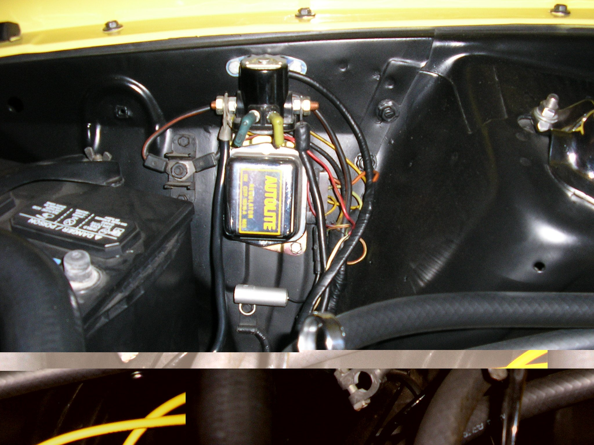 1974 Jeep Starter Solenoid Wiring D Library Diagram With Attached 1973 Mustang Mach 1 F100 Charging Starting