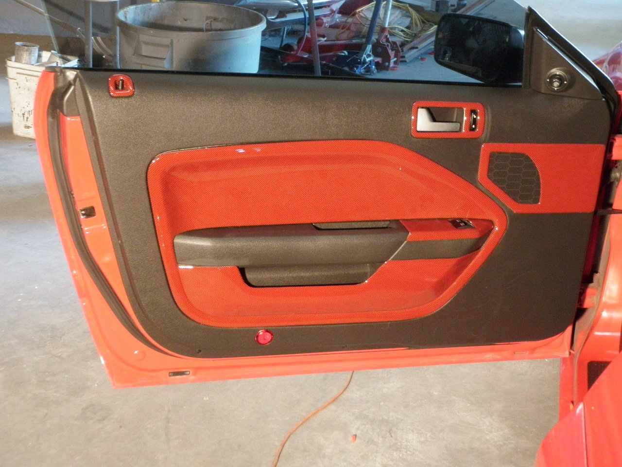 Door Panel Quot Leather Quot Coming Loose Page 2 Ford Mustang